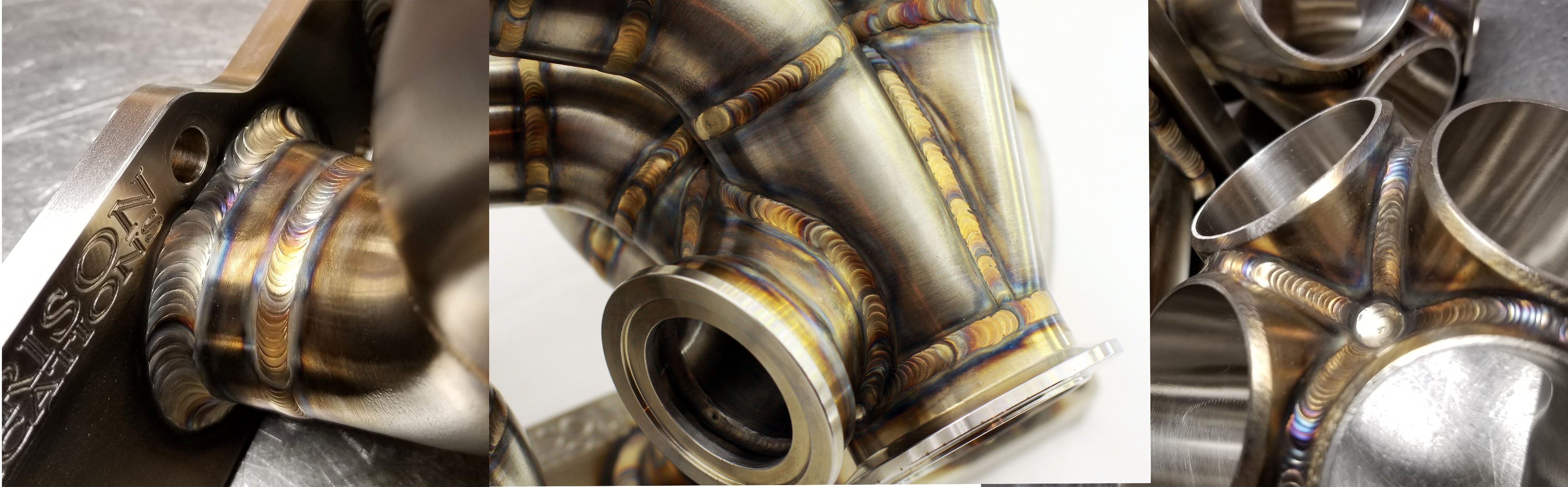 321 stainless is now the standard material for all of our turbo manifolds!